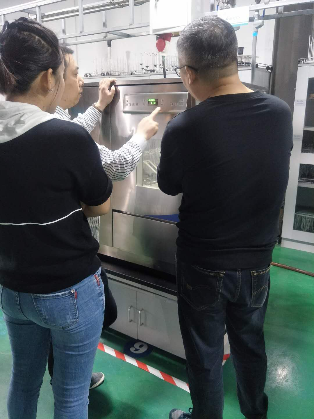 The bottler of Liaoning Province, the general agent came to the company for training