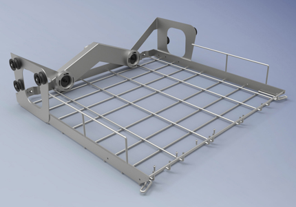 Upper middle layer module basket FA-Z01